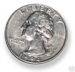 Shimmed Quarter Shell Magic Trick
