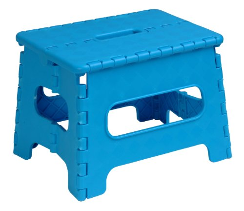 Folding Stool 9 In. (Blue)