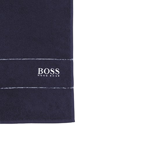 HUGO-BOSS-Badetuch-Beach-Towel-070-x-140-dunkelblau-Saunatuch-Strandtuch