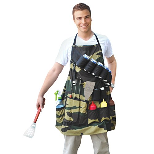 BigMouth Inc. The Grill Sergeant BBQ Apron