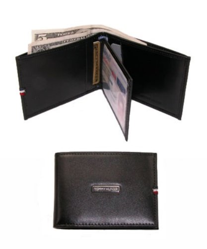 Tommy Hilfiger Leather Front Pocket Wallet