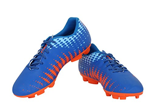 Nivia Ultra-I Football Shoes, Men's 9 UK (Blue/Orange)