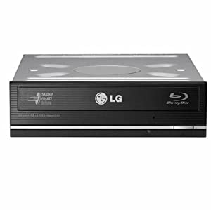 LG UH12LS28K LightScribe 12x SATA Blu-Ray Combo Internal Drive, Bulk (Black)