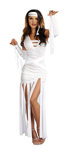 Dreamgirl Women's Sexy Spooky Costume, Mummy Dearest