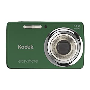 Kodak EasyShare M532 14 MP Digital Camera with 4x Optical Zoom and 2.7-Inch LCD &#8211; Green