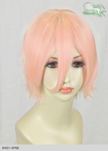 スキップウィッグ 魅せる シャープ 小顔に特化したコスプレアレンジウィッグ マニッシュショート イチゴミルク