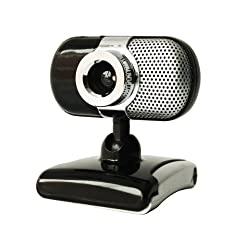 Kinobo B7 Laptop USB 5mpx Webcam For Windows XP/Vista/7 Skype/Yahoo/MSN Includes USB Microphone