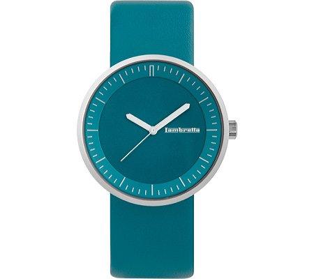 Lambretta Franco 2160 Watch Petrol Blue Leather/Petrol Blue