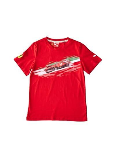 Puma Camiseta Manga Corta SF Graphic Rojo
