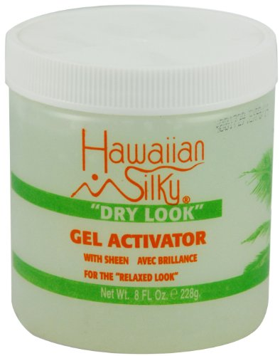 Hawaiian Silky Dry Look Gel Activator 8 oz. (Pack
