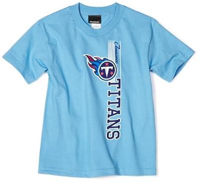 NFL Tennessee Titans Vertical Presence Tee Shirt Boys'