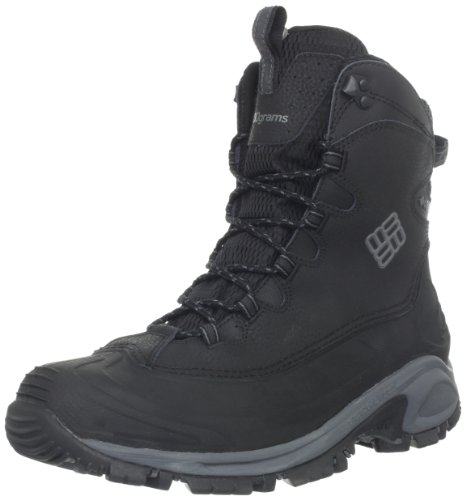Columbia Men's Bugaboot Snow Boot,Black/Charcoal,11