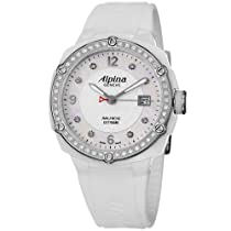 Alpina Adventure Avalanche Extreme Ladies-large White Ceramic Diamond Watch AL-240MPWD3AECD6