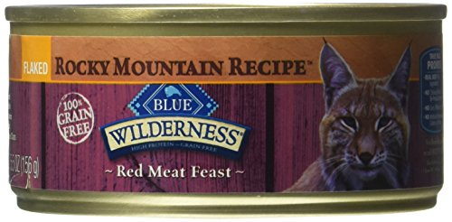 BLUE Buffalo Wilderness Rocky Mountain Recipe™ Flaked Red Meat Feast For Adult Cats