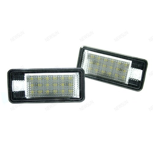 Newsun Xenon White 18smd LED License Plate Lamp
