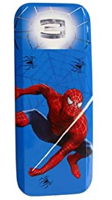 Spiderman Pencil Case - Marvel Spider-man School Stationery Tin Box
