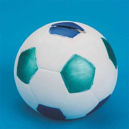 Color-Me Ceramic Bisque Soccer Ball Banks (makes 12) by Color Me jetzt bestellen