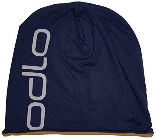 Odlo Mütze Herren Hat Reversible, Navy New - Dull Gold, One size, 792680