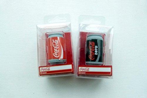 novelty-3d-coca-cola-can-drink-eraser-in-box-coca-cola-and-coca-cola-zero-2-pieces