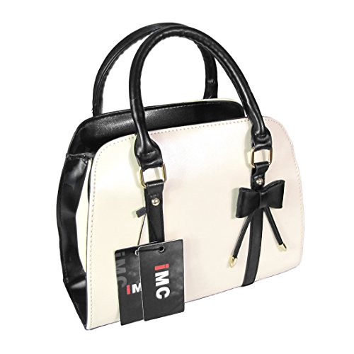 Imixcity Women Vintage New Shoulder Bags Faux Leather Hobo Messenger Lady Handbags Bag (Beige)
