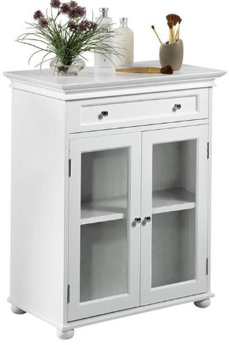Black Friday Hampton Bay Standard Cabinet With Two Glass