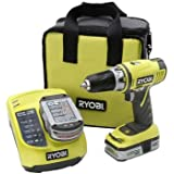 Factory-Reconditioned Ryobi ZRP816 ONE Plus 18V Cordless 1/2 in. Drill Kit
