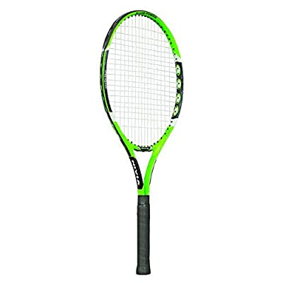 NIVIA Attack-Ti Tennis Racquet (Green/Black)