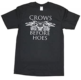 Amazon com 21 century clothing women s crows before hoes game of