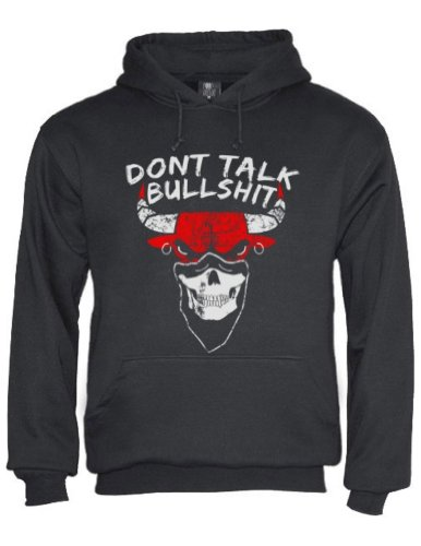 Green Turtle - DON'T TALK BULLSHIT Black Large Hoodie at Amazon.com