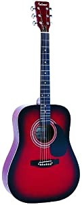 Falcon FG100R Dreadnought Acoustic Guitar - Redburst