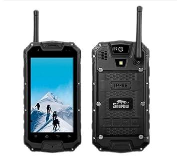 """Bestore - Snopow M8 IP68 Tri-Etanche à la poussière Résistant aux chocs Android 4.2 MTK6589 Quad Core 1,2 GHz 1 Go de RAM 4 Go ROM 4.5 """"960 x 540 pixels écran WCDMA 8.0MP Camera / GSM 3G Compas GPS PTT WalkieTalkie Smartph"""