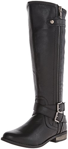 Rampage Women's Hansel Riding Boot, Black, 8.5 M US