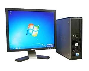 Win7 Pro 64Bit メモリー8GB PC DELL Optiplex 760SF(Core 2 Duo E7400)17型液晶(dtb-239)