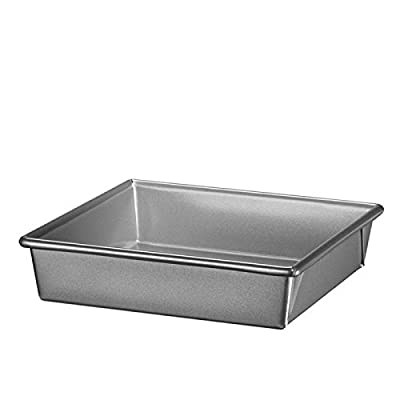 "KitchenAid KBNSO08SQ Professional-Grade Nonstick Square Pan, 8 x 8 x 2"""