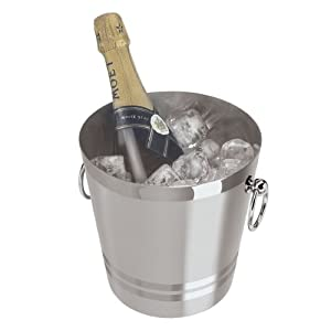 Oggi 7041.0 Stainless Steel Champagne Bucket, 4-1/4-Quart at Sears.com