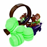 Scooby Doo Glow in the Dark - Mine Car Mayhem Stunt Set