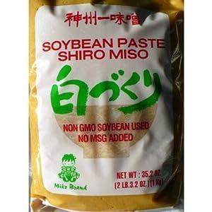 Shiro Miso Paste NON GMO No MSG Added Miko Brand 35.2oz