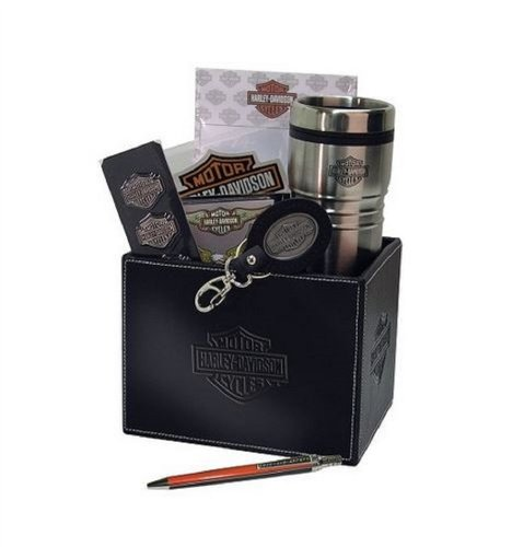Harley-Davidson® Roadhouse Collection H-D Ride to Work Gift Basket. HDL-19950