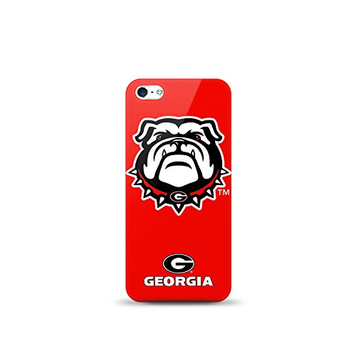 Mizco Sports iPhone 5S/SE NCAA Oversized Snapback TPU Case University of Georgia - Bull Dogs (Ga Bulldogs Phone Case compare prices)