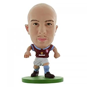 Aston Villa F.C. SoccerStarz Ireland- Stephen Ireland- soccerstarz figure- 2 inches tall- with collectors card- in blister pack- Official Football Merchandise from Limited Stock / Collectables