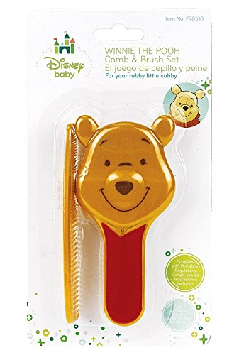 Winnie The Pooh Sculpted Comb & Brush Set