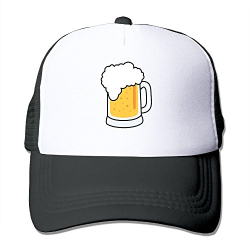 xssyz-i-love-beer-trucker-hat-mesh-cap-black