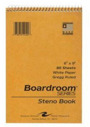 Roaring Spring Paper Products 12102 Steno Notebook