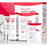 Face V-line Chin up Lift Slimming Belt , Neck Line Slimmer Cream and 5 Masks - for Sagging Double Chin