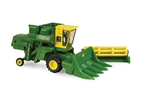 Ertl Collectibles 1:64 John Deere 95 Combine With Grain And Corn Heads