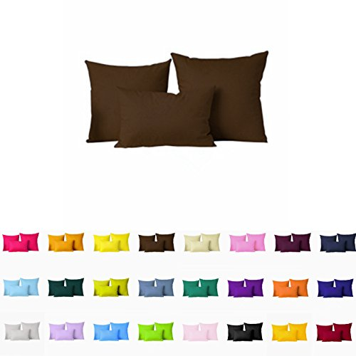 """Decorative Pillows Cover/Cushion Case (26""""X26"""", Coffee) front-972731"""