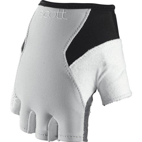 Scott Essential Damen Fahrrad Handschuhe kurz grau/weiß 2014: Größe: M (8)
