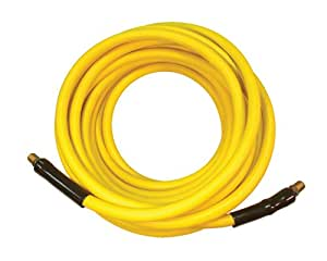 "ATD Tools 8186 3/8"" X 25' Yellow Premium Rubber Alloy Air Hose"