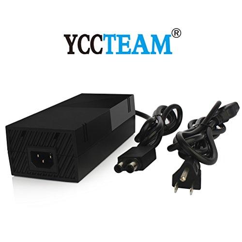 YCCTEAM® Original Xbox One AC Adapter Power Supply Cord ,Brick Style, Black