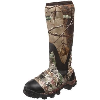 """Irish Setter Men's Swampghost WP 1000 Gram 17"""" Rubber Boot"""